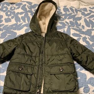 Gymboree 12-24 months winter coat. Fleece lined